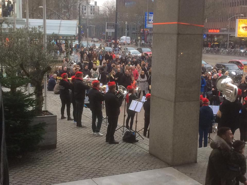 Winterbrass in Rotterdam