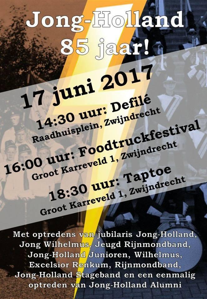 Jong-Holland 85 jaar 17 juni 2017