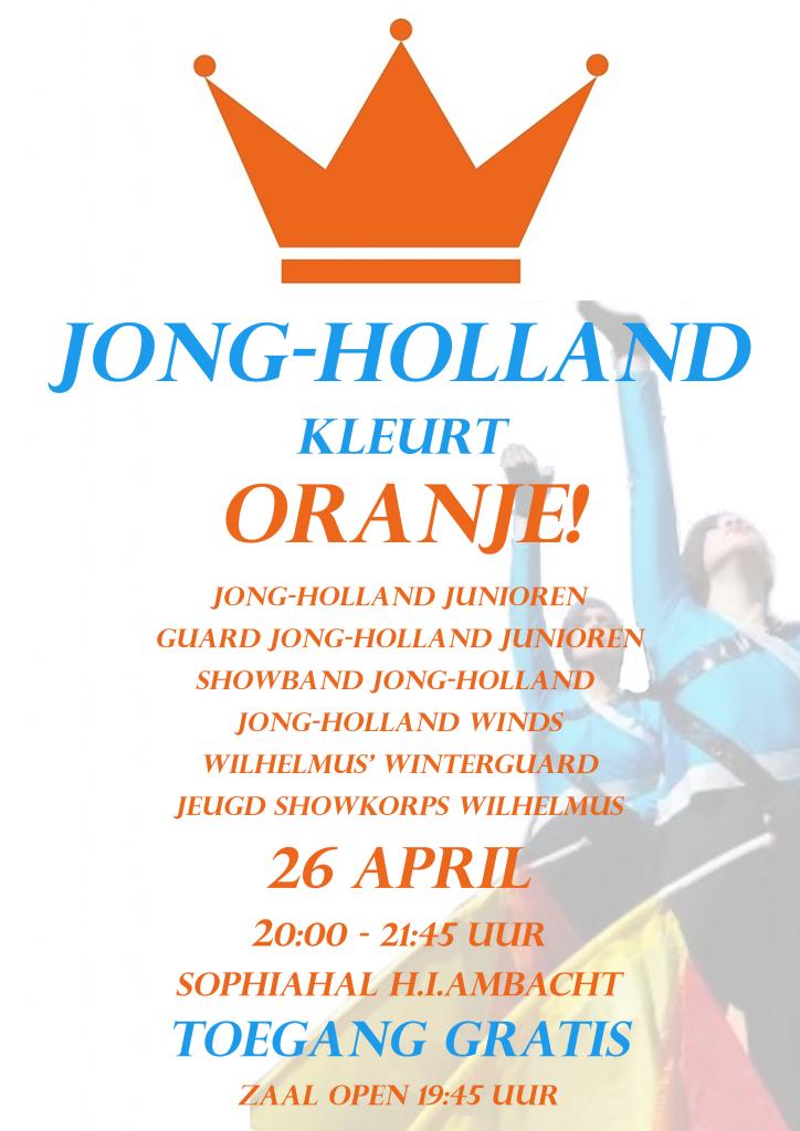 Koningsdag 2018: Jong-Holland kleurt Oranje!