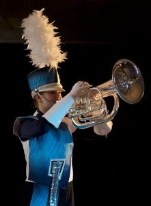 Nieuw uniform Showband Jong-Holland