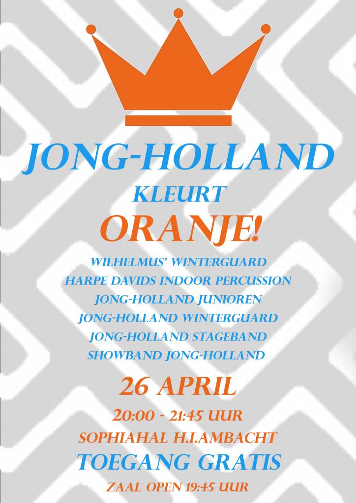 Koningsdag 2019: Jong-Holland kleurt ORANJE!